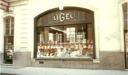 Devanture d'un magasin LIGEL à Paris